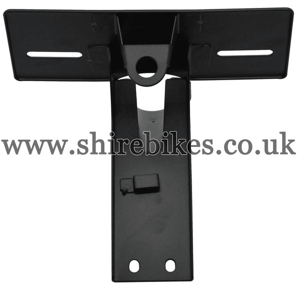Reproduction Black Rear Light/Number Plate Bracket suitable for use with Z50A (US Model)