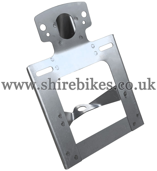 Reproduction Bare Metal Rear Light/Number Plate Bracket suitable for use with Z50A (UK & General Export Models)