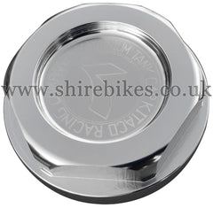 Kitaco Silver Aluminium Fuel Filler Cap suitable for use with Z50J1, Z50R, Z50J, Dax 6V, Dax 12V, C90E