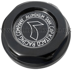 Kitaco Black Aluminium Fuel Filler Cap suitable for use with Z50J1, Z50R, Z50J, Dax 6V, Dax 12V, C90E