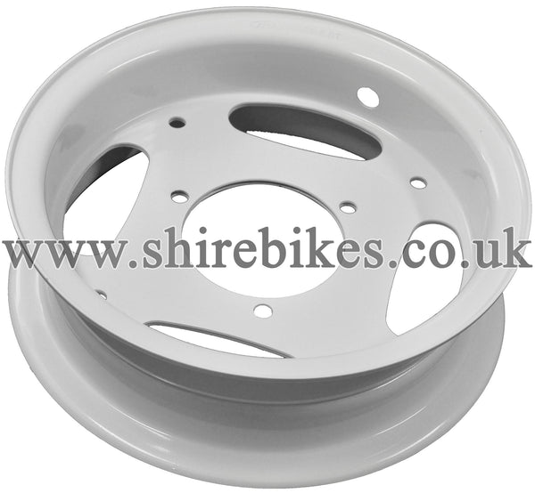 Honda White Wheel Rims suitable for use with Z50R