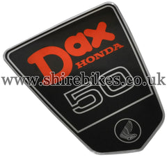 Honda (Type 1) Frame Shield Badge ST50 suitable for use with Dax 6V