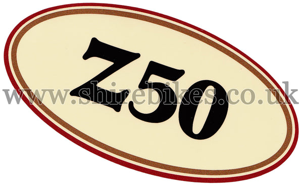 Honda Cherry Side Cover Sticker suitable for use with Monkey Bike Motorcycles