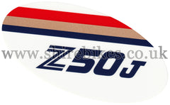 Honda Rothmans Side Cover Sticker suitable for use with Monkey Bike Motorcycles