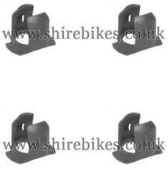 Honda Emblem Clips (Set of 4) suitable for use with Z50A, Chaly 6V