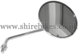 Honda Chrome Right Hand Mirror suitable for use with Dax 6V, Chaly 6V