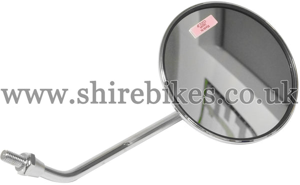 Honda Chrome Left Hand Mirror suitable for use with Dax 6V, Chaly 6V