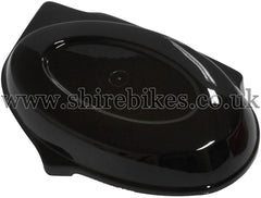 Reproduction Black Side Cover suitable for use with Monkey Bike Motorcycles