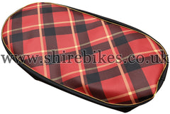 Reproduction Tartan Seat Cover suitable for use with Z50M