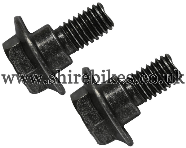 Honda Fixing Bolts for Plastic Chain Guard (Pair) suitable for use with Z50R, Z50J