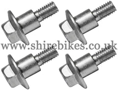 Honda Rear Mudguard Bolts (Set of 4) suitable for use with Z50R, Z50J
