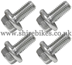 Honda 8mm Wheel Rim Bolt (Set of 4) suitable for use with Z50A, Z50J1, Z50R