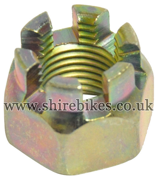 Honda Locking Axle Castle Nut suitable for use with Dax 6V, Chaly 6V