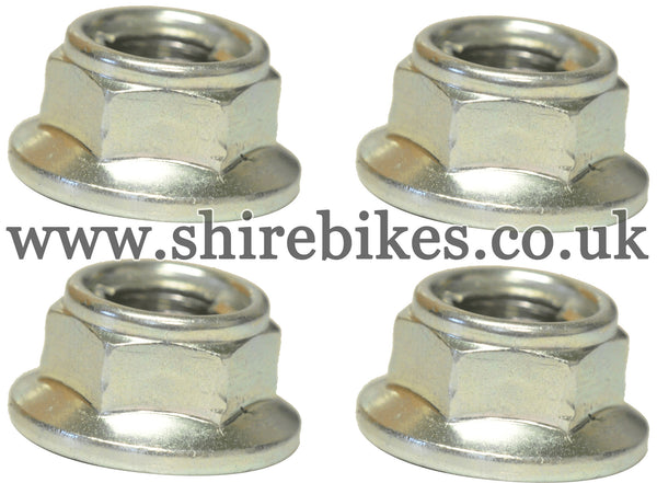 Honda 8mm Wheel Rim Nut (Set of 4) suitable for use with Z50J