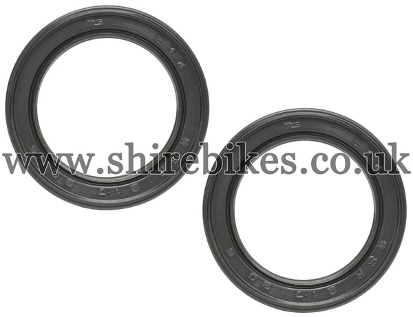 Honda Fork Seals (Pair) suitable for use with Z50A, Z50J1, Dax 6V, Chaly 6V