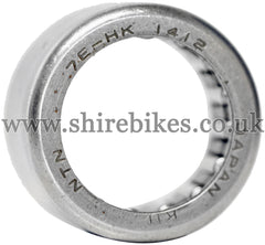 Honda Needle Roller Bearing for 14mm Gearbox Shaft suitable for use with Z50R, Dax 12V, Z50J 12V, C90E