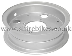 Honda Silver Steel Wheel Rims suitable for use with Z50A, Z50J1, Z50J