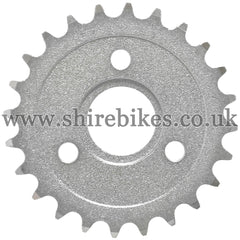 24T Rear Sprocket suitable for use with CZ100, Z50M, Z50A, Z50J1, Z50J, Z50R