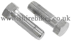 Honda Chrome Top Fork Bolts (Pair) suitable for use with Z50R, Z50J1, Z50J, Chaly 6V