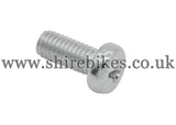 Honda Head Light Rim to Bowl Screw suitable for use with Z50M, Z50A, Z50J1, Dax 6V, Chaly 6V