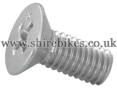Honda Screw for Stator Plate suitable for use with Z50M, Z50A, Z50J1, Z50R, Z50J, Dax 6V, Chaly 6V, Dax 12V, C90E