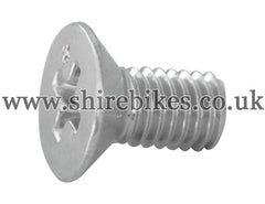 Honda Screw for Clutch Bearing Plate suitable for use with Z50M, Z50A, Z50J1, Z50R, Z50J, Dax 6V, Chaly 6V, Dax 12V, C90E