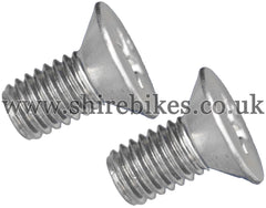 Honda Screws for Magneto Cover Plate (Pair) suitable for use with Dax 6V, Chaly 6V