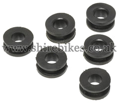 Reproduction Mudguards Rubbers (Set of 6) suitable for use with Monkey Bike Motorcycles