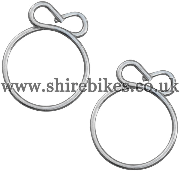 Honda 5.5mm Fuel Pipe Clips (Pair)