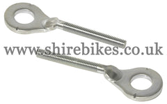 Honda Chain Adjusters (Pair) suitable for use with Z50J1, Z50R, Z50J, Dax 6V, Dax 12V, Chaly 6V
