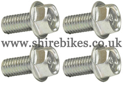 Honda 8mm Wheel Rim Bolt (Set of 4) suitable for use with Z50J