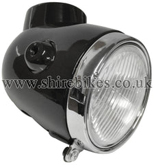 Honda z50a mini trail shire bikes parts accesories suitable reproduction black head light unit suitable for use with z50a z50j1 swarovskicordoba Choice Image