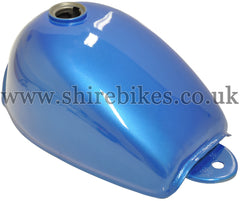 Zhen Hua Metallic Blue Fuel Tank suitable for use with Monkey Bike Motorcycles