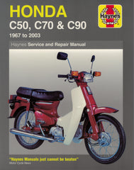 Haynes Service and Repair Manual for Honda Cub C50, C70 & C90