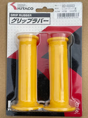 NOS Kitaco Yellow Handlebar Grips (Pair) suitable for use with Z50J