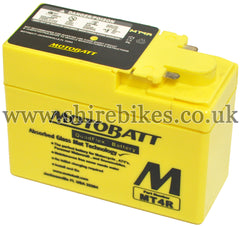 Motobatt MT4R 12V Battery suitable for use with Z50J