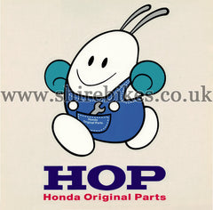 Honda Small HOP Mascot Stickers (Set of 50)