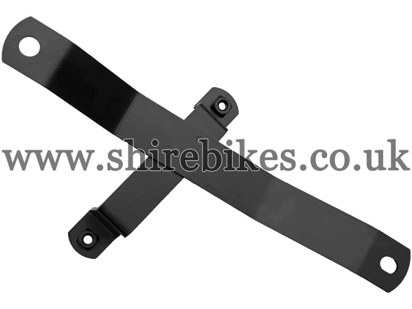 Reproduction Black Bracket for Side Number Plate (Chain Side) suitable for use with Z50R