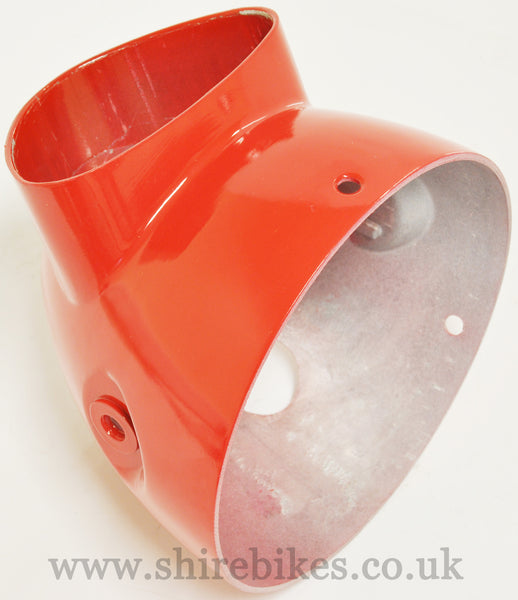 Zhen Hua Aluminium Red Headlight Bowl suitable for use with Dax Motorcycles