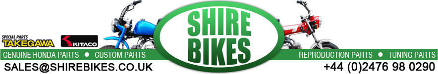 Shire Bikes - Parts & Accesories suitable for Monkey Bikes