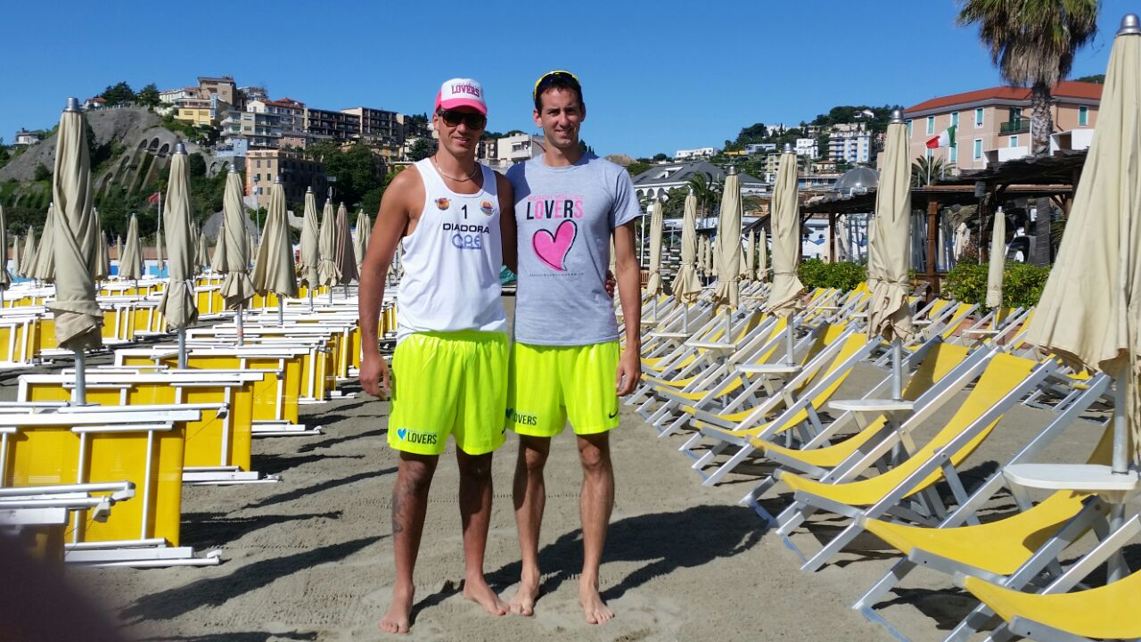 Claudio and Andrea – Italian Professional Beach Volleyball Team Garghella-Barlassina