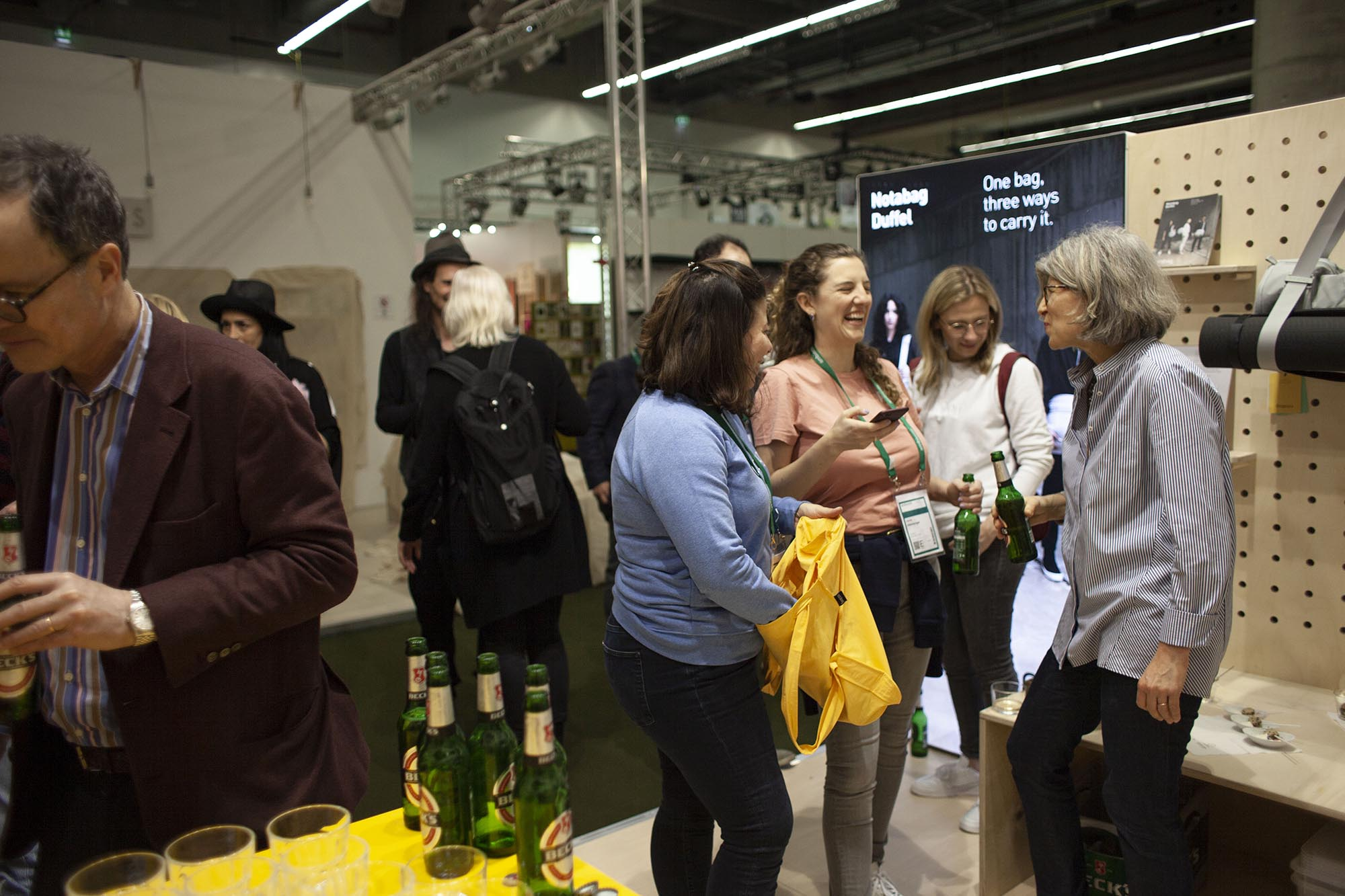 Visitors and team at our event at Ambiente 2020