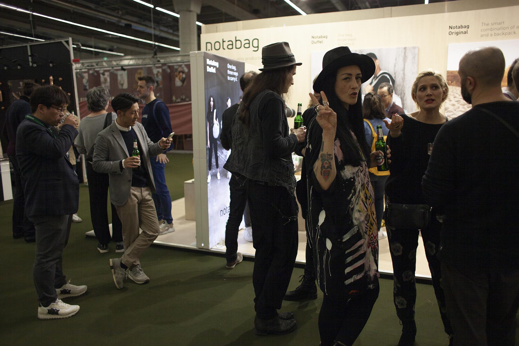 Visitors at our event at Ambiente 2020