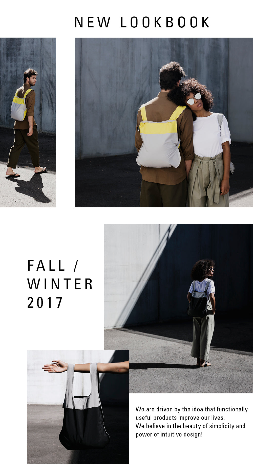 New Notabag Lookbook F/W 2017