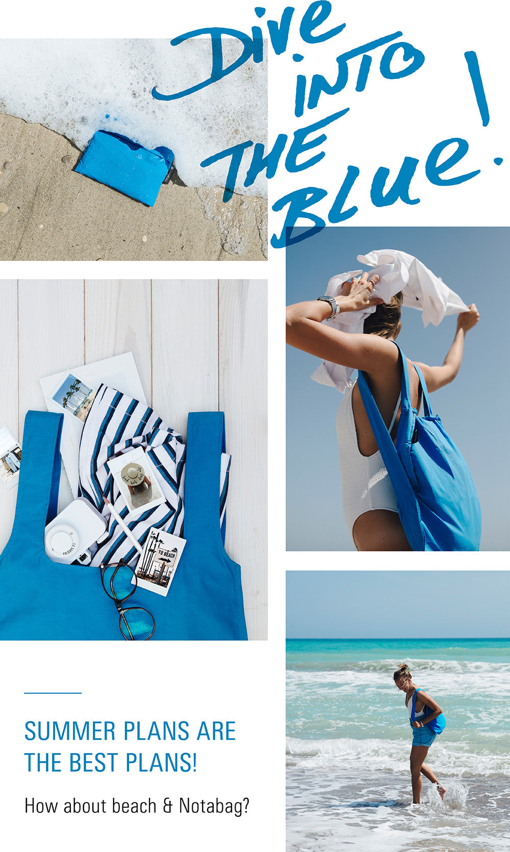 Dive Into The Blue!