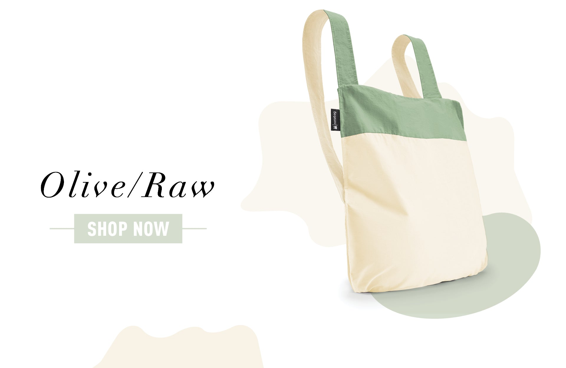 Notabag Olive/Raw – Shop Now