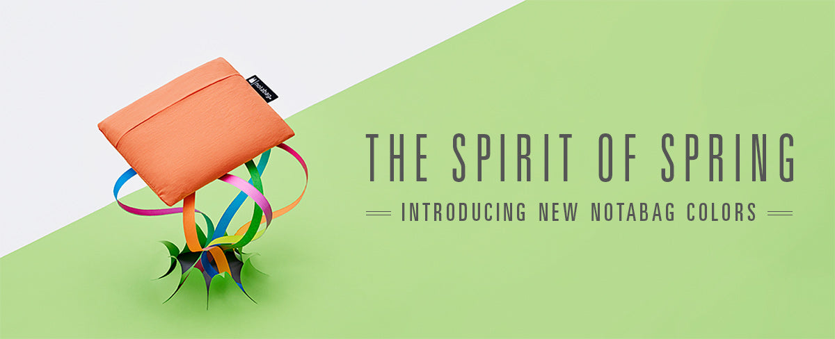 The Spirit of Spring - Introducing New Notabag Colors
