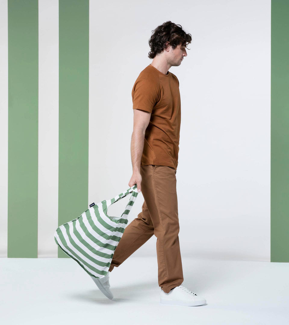 Notabag – Olive Stripes