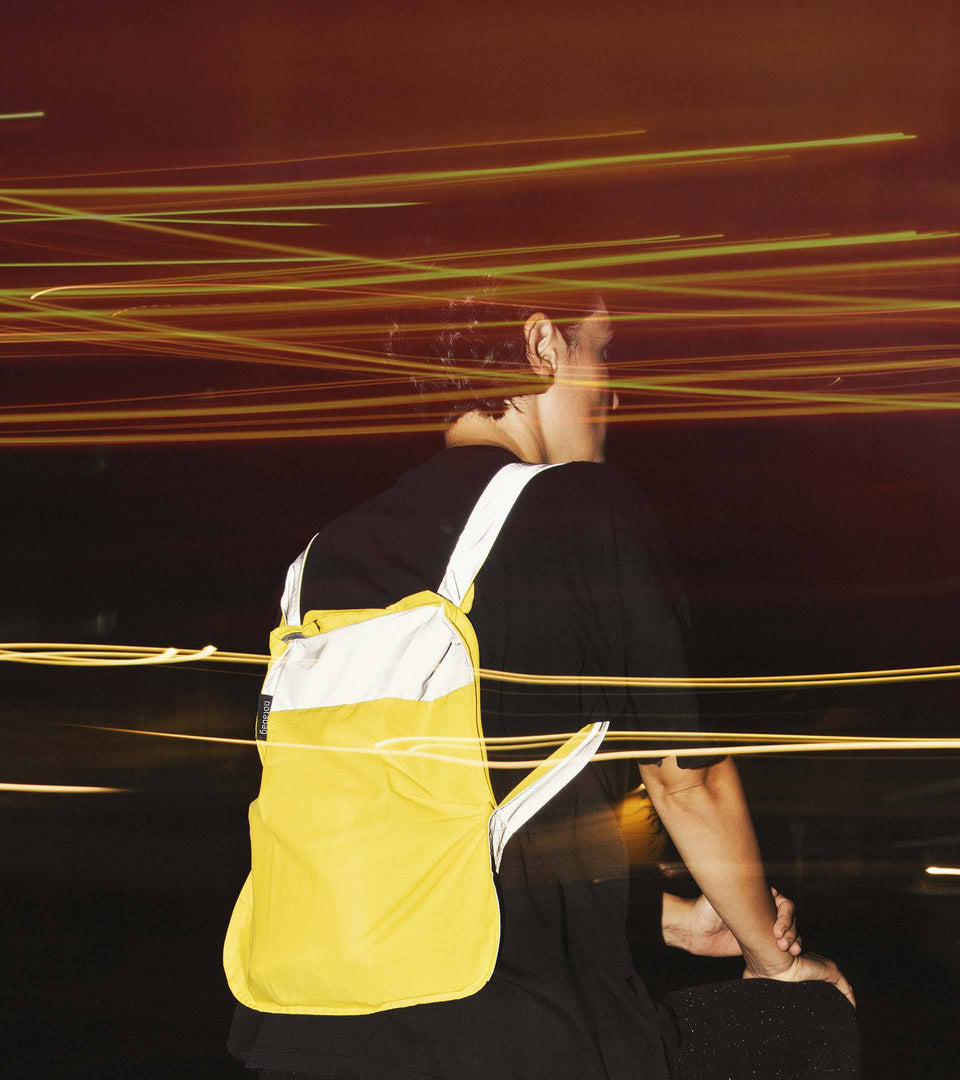 Reflective Notabag Mini – Yellow