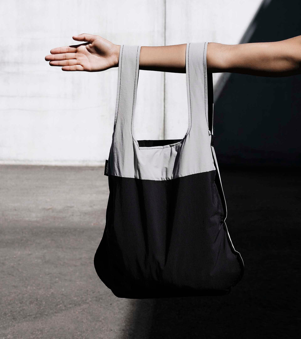 Notabag – Grey/Black